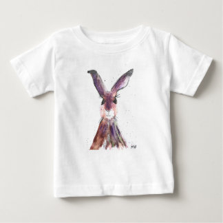 Hare watercolor painting baby T-Shirt