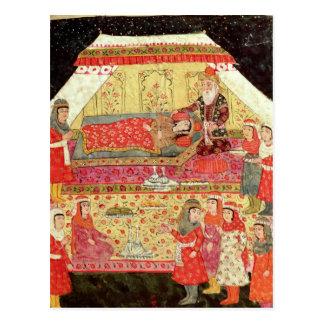 Harem Scene Postcard