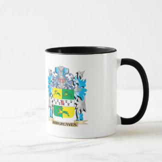 Hargreaves Coat of Arms - Family Crest Mug