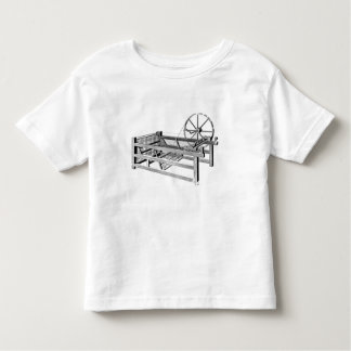 Hargreaves's Spinning Jenny, engraved by Toddler T-Shirt