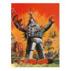 Hari Hari vintage japanese robot postcard