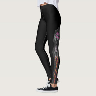 haring Design Climbing Leggings