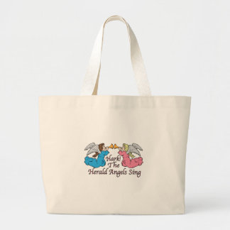 Hark The Herald Angels Sing Tote Bags