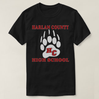 HARLAN COUNTY BLACK BEARS HIGH SCHOOL KENTUCKY T-Shirt