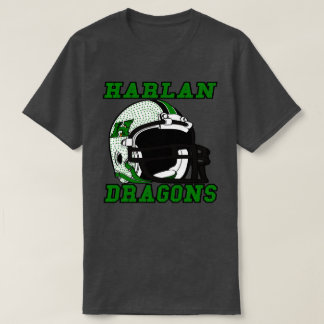 Harlan Dragons  Kentucky City High School T-Shirt