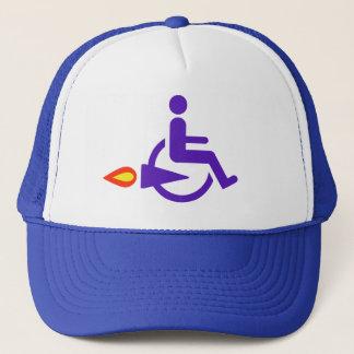 Harldy Handicapped funny Trucker Hat