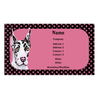 Harle Pup Great Dane Business Card