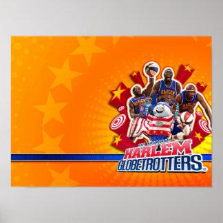 Harlem GlobeTrotter's Group Picture Poster