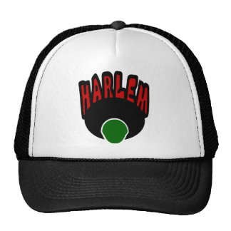 Harlem Graffiti With Face & Big Afro, 3 Colors Hat