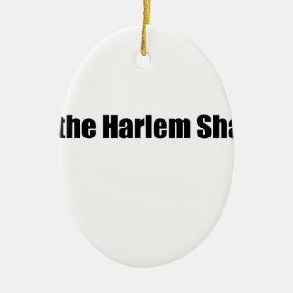 Harlem Shake! Ceramic Oval Decoration