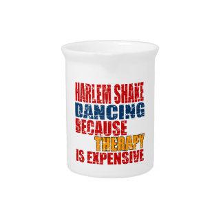 Harlem Shake Dance Designs Beverage Pitcher