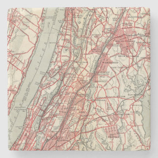 Harlem, Yonkers, Pelham Manor, New York Stone Coaster