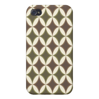 Harlequin Argyle Earth iPhone 4 Cover