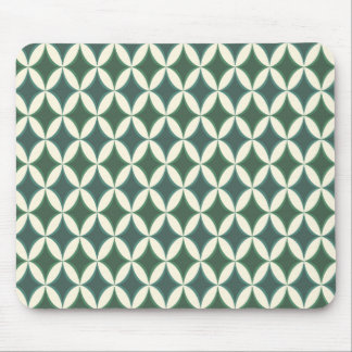 Harlequin Argyle Ocean Pattern Mouse Pad