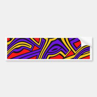 Harlequin Bumper Sticker