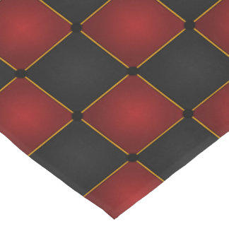 Harlequin Checkers Short Table Runner