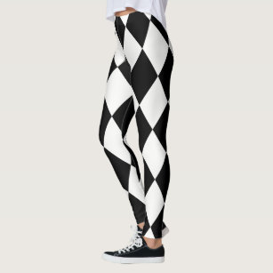 b4f413f6160d2 Harlequin ~ Diamond Pattern ~ *Customize Any Color Leggings