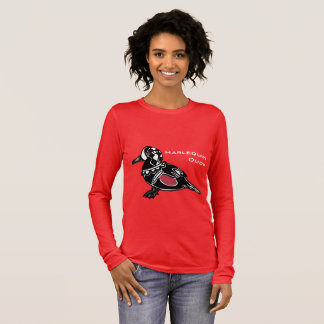 Harlequin Duck Long Sleeve T-Shirt