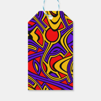 Harlequin Gift Tags