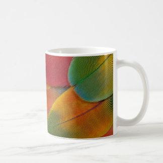 Harlequin Macaw parrot feathers Coffee Mug