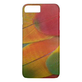Harlequin Macaw parrot feathers iPhone 8 Plus/7 Plus Case