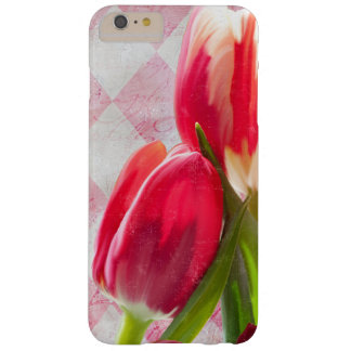 Harlequin Pink, Floral Tulip iPhone 6 plus case