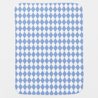 Harlequin-Precious-Blue-Baby-Cuddle Baby Blanket