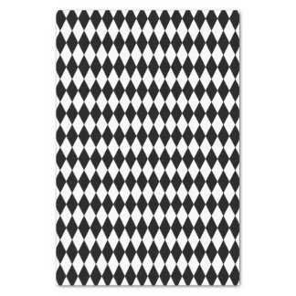 Harlequin Tissue Paper Customize Color with black