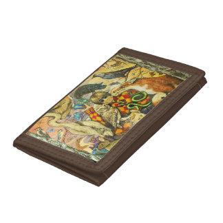 Harlequin Tri-fold Wallet