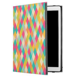 "Harlequin vintage pattern iPad pro 12.9"" case"