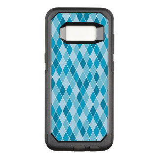 Harlequin winter pattern OtterBox commuter samsung galaxy s8 case
