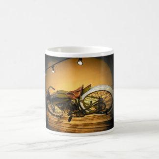 Harley Bike Vintage Basic White Mug