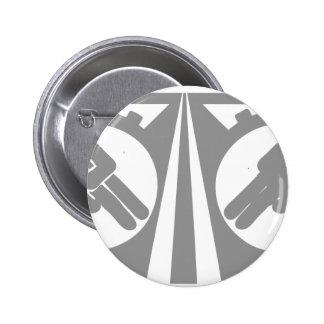 Harley Davidson drive safe symbol Pinback Button