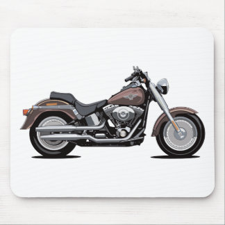Harley Davidson Fat Boy Mouse Pad