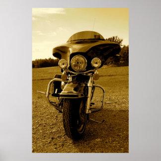 Harley Davidson Front Poster