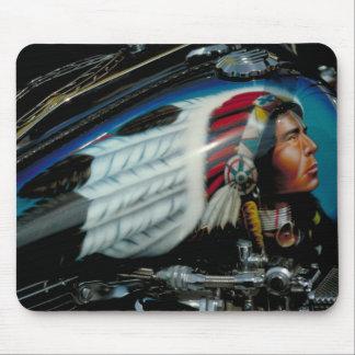 Harley Davidson fuel tank mousepad