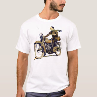 Harley Davidson Motor Bike Vintage tee Hikingduck