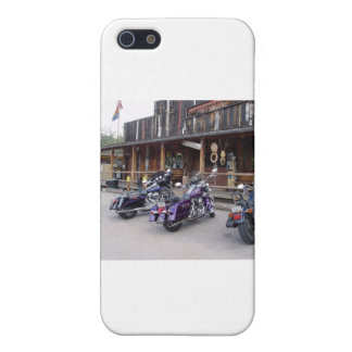 Harley Davidson Motorcycles Western Saloon iPhone 5/5S Covers