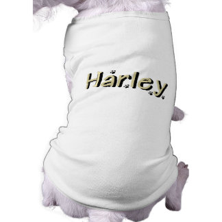 Harley Doggie Name Sweater Shirt