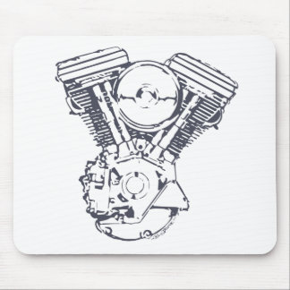 Harley Evolution V-Twin Mousepads