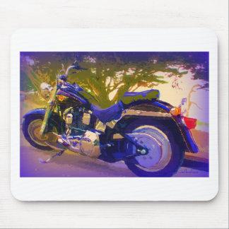 Harley-FatBoy-1998 Motorcycle Mousepad