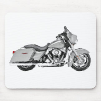 Harley FLHX Street Glide Hand Painted Art Brush Mouse Pad