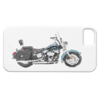 Harley FLSTC Heritage Softail Hand Painted Brush Case For The iPhone 5