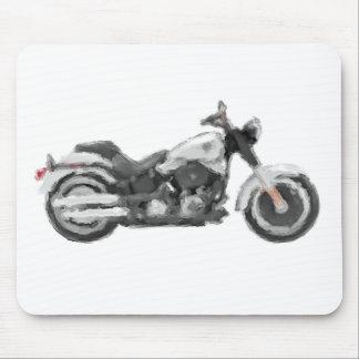 Harley FLSTFB Fat Boy Hand Painted Art Brush Mouse Pad