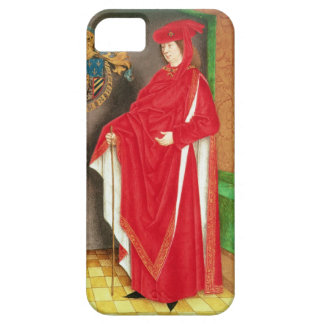 Harley Ms 6199 f.57 v Philip the Good (1396-1467) iPhone 5 Case