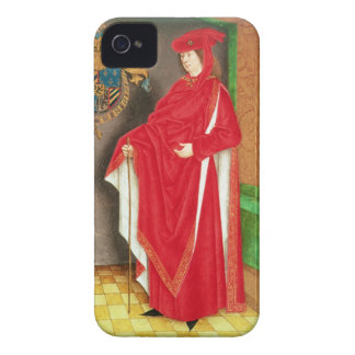Harley Ms 6199 f.57 v Philip the Good (1396-1467) iPhone 4 Cases