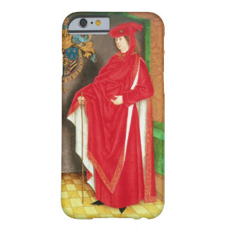 Harley Ms 6199 f.57 v Philip the Good (1396-1467) Barely There iPhone 6 Case
