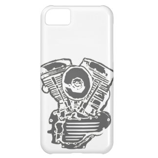 Harley Panhead Engine Drawing iPhone 5C Case