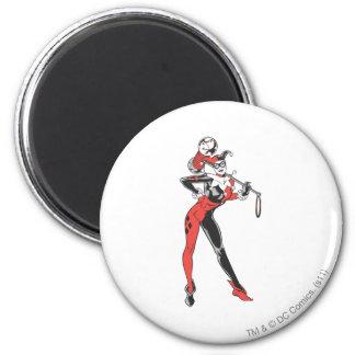 Harley Quinn 4 6 Cm Round Magnet