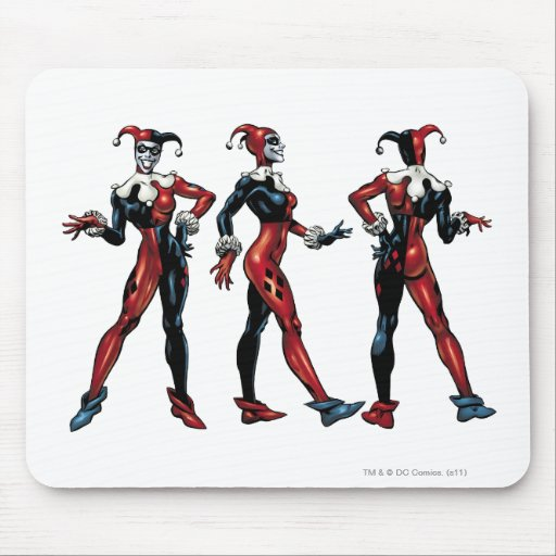 Harley Quinn - All Sides Mouse Pads